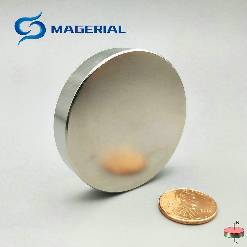 1 pack Grade N42 NdFeB Magnet Disc Diameter 50x10 mm 1.97 Super Strong Magnet Neodymium Permanent Rare Earth Magnets NiCuNi 2pcs mounting magnetic disc diameter 88 mm led light holding spotlight holder male thread ndfeb magnet strong neodymium magnet