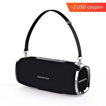 Estgosz Hopestar A6 Bluetooth Speaker Portable Nirkabel Loudspeaker Suara Sistem 3D Stereo Tahan Air Luar Ruangan Besar Power Bank 35 W