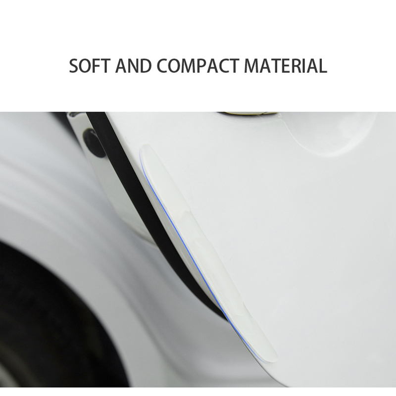 Image 4 - Car Door Edge Guard Scratch Strip Protector Rubber Sticker Auto Rearview Mirror Front Rear Bumper Protection Film Universal Trim-in Styling Mouldings from Automobiles & Motorcycles