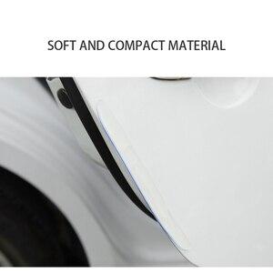 Image 4 - Car Door Edge Guard Scratch Strip Protector Rubber Sticker Auto Rearview Mirror Front Rear Bumper Protection Film Universal Trim
