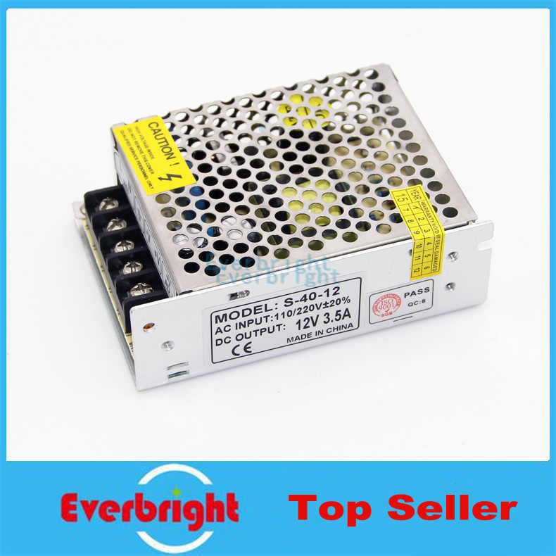 24W <font><b>3.5A</b></font> AC 100V-240V to DC <font><b>12V</b></font> Voltage Transformer Switch <font><b>Power</b></font> <font><b>Supply</b></font> for Led Strip Led control Led switch LED display image