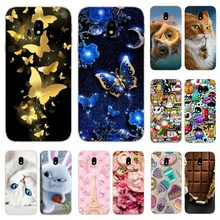 Silicone Cover For Samsung Galaxy J3 2017 J330 F Case 5.0' Luxury Soft TPU Print Case for sm Samsung J 3 2017 330 F Fundas Coque(China)