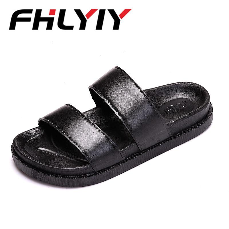 Unisex Sandals New Men Summer Shoes Beach Sandals Men Hollow Slippers Flip Flops Light Sandalias Sapato Masculino Zapatos Hombr