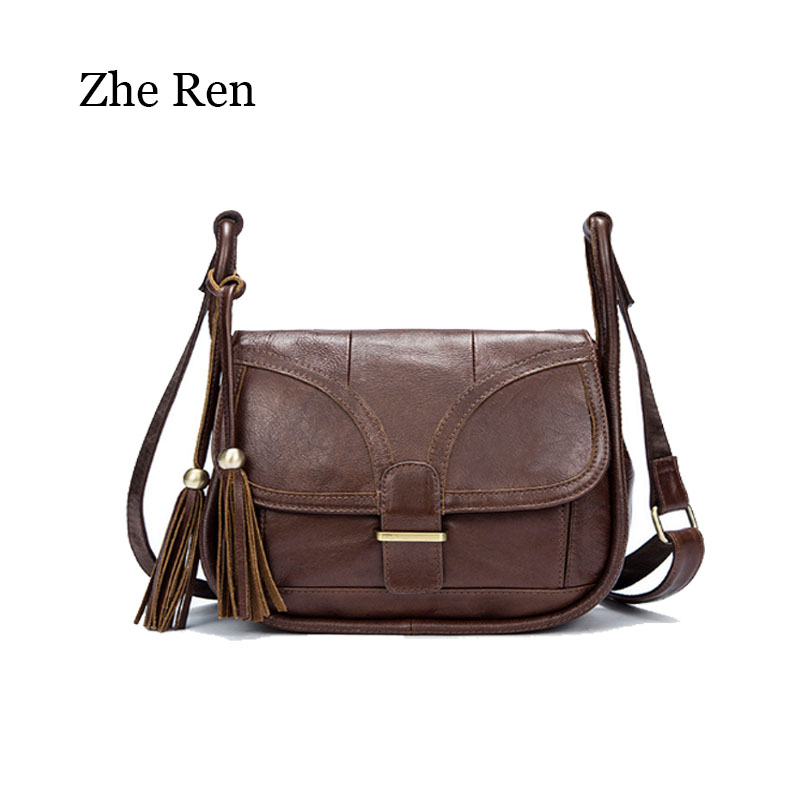 women Bag Brand Designer 2018 Women's Genuine Leather Vintage Single Shoulder Bag Women Crossbody Bags Handbags For Ladies все цены