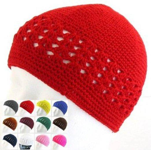 32f796f0d4f 20pcs lot Classic Knit Kufi Hat - Koopy Cap - Crochet Beanie Skull Hats Mix