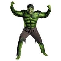 Adult Avengers Hulk Muscle Costume Halloween Fantasia Superhero Movie Cosplay Fancy Dress