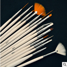 Free shipping 2014 hot sale new  mix colour  soft  high quality  nail brush  face brush
