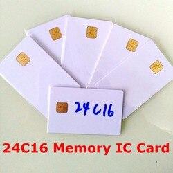Carte à puce AT24C16 ISO7816 mémoire sécurisée 24C16 carte à puce à connexion vierge