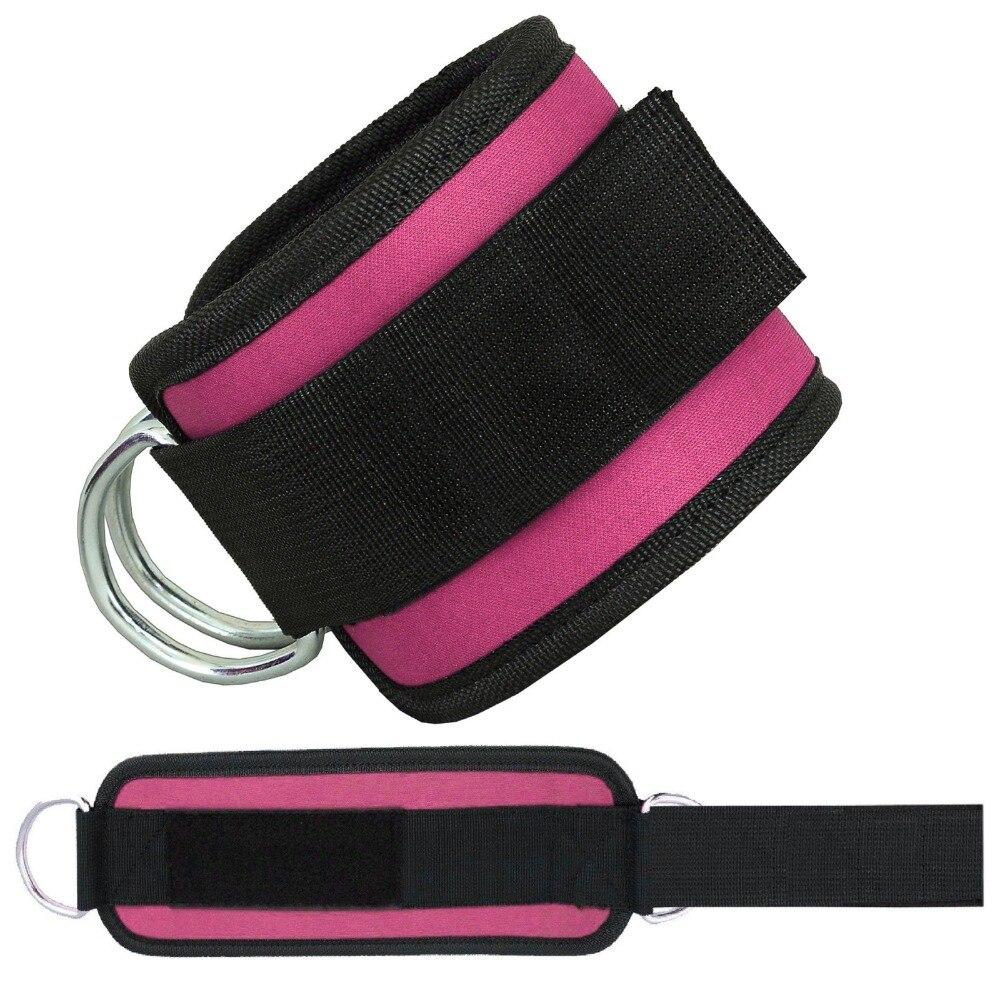 1 Cair Crossfit Ankle Cuffs Müqavimət Qrupları Lateks Elastik - Fitness və bodibildinq - Fotoqrafiya 5
