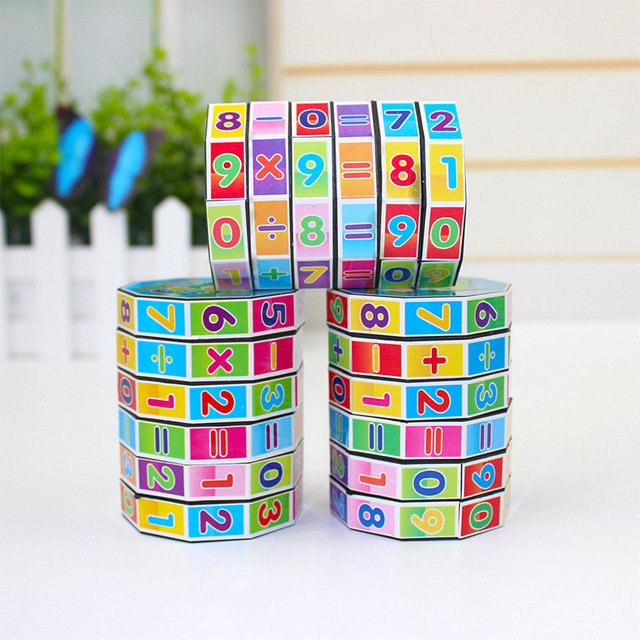 Puzzle Game Baby Toys Digital Cube Children Educational Learning Math Toys Numbers Magic Cube Toy For Kids