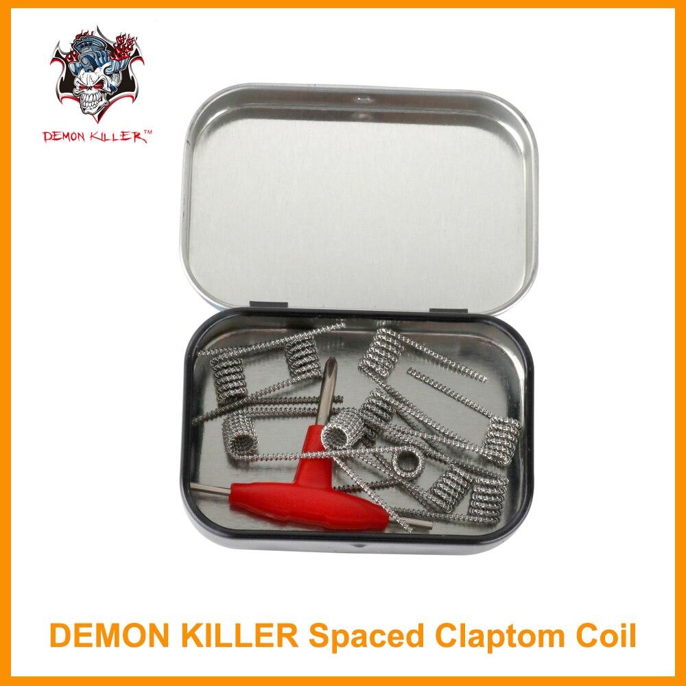 Original 10 Teile/pakete Dämon Mörder Abstand Clapton spule 0.35ohm ...
