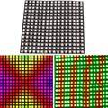 СВЕТОДИОДНЫЙ цифровой гибкий панельный светильник WS2812B  16*16 пикселей  DC5V
