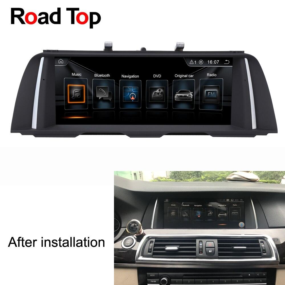 10.25 Android Autoradio GPS Navigation Écran Moniteur pour BMW F10 F11 520i 523i 528i 530i 535i 550i M5 518d 520d 525d 530d 535d