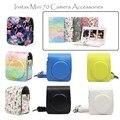 Qualität PU Leder Kamera Fall/Tasche/Abdeckung und Instax Mini Film Fotoalbum für Fuji Fujifilm Instax Mini 70 Instant Film Kamera-in Film aus Verbraucherelektronik bei