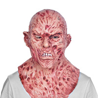 Blood Freddy Slasher horror movie Jason Halloween Friday the 13th Killers Realistic Adult Costume Mask Krueger Scary Cos Zombie