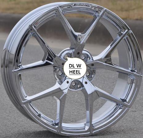 buy high performance chrome 18x8 5 5x112 car alloy wheel rims fit for mercedes. Black Bedroom Furniture Sets. Home Design Ideas