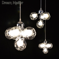 Postmodern Minimalist Art Creative Bubbles Chandeliers Stained Glass Balls Chandeliers Restaurants Bars Children S Room Lights