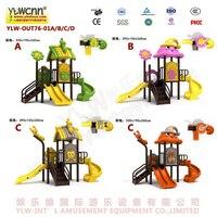 Детский сад, открытый пластиковые площадка оборудование дети слайд игрушка играть структура YLW OUT76 01