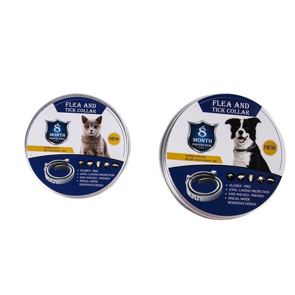 Dog Collar Eliminating Flea and Tick Prevention Repellent Collar for Pet Dog Natural Pest Removing Oil Flea Repellent Collar in Collars from Home Garden