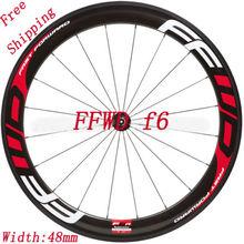 Наклейки/наклейки на дорожный велосипед/велосипед два колеса обод для FFWD F6 глубина 48 мм