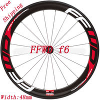 Stickers/decals of Road Bike/Bicycle two Wheels rim for FFWD F6 depth 48 mm free shipping