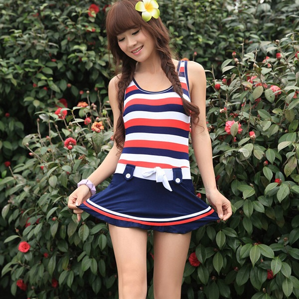 5aa3278474df4 Swimsuit Summer Girl Cute Bathing Suit Tops Modest Swimsuits Juniors One  Piece Women Swim Dresses on Aliexpress.com | Alibaba Group