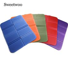 Soft Waterproof Dual Camping Hiking Picnic Portable Cushion Seat Pad Outdoor Folding Moistureproof Mattress