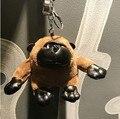 Cute Plush Stuffed Monkey Gorilla Keychain Animal Key Chain Car Key Ring Key Holder Chlidren Women Bag Accessories Bag Pendant