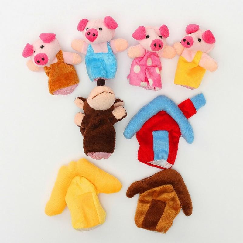 8pcsSet-Animal-Finger-Puppet-Plush-Toys-Cartoon-Lovely-Child-Baby-Favor-Doll-Kids-Gifts-Free-shipping-2