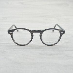 Image 5 - チャシュマヴィンテージ光学ガラスフレームアセテート OV5186 眼鏡オリバー老眼鏡女性と男性の眼鏡フレーム