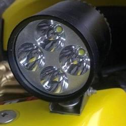LDDCZENGHUITEC 4 * U2 chip 40 W 4400 lumenów wodoodporne światło led zestaw do motocykla reflektor led motocykl prowadził światło|kit kits|kit ledkit led lights -