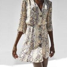 Half Sleeve Button Dress