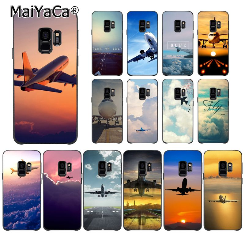 MaiYaCa Aircraft Airplane fly travel cloud Sky Phone Case for Huawei P9 P10 Plus Mate9 10 Mate10 Lite P20 Pro Honor10 View10