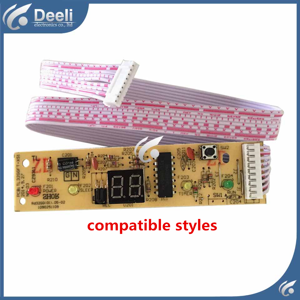 100% new compatible for TCL Air conditioning display board remote control receiver board plate TL32GNFT-XS = 1090251109 cs3310 remote preamplifier board with vfd display 4 way input hifi preamp remote control digital volume control board
