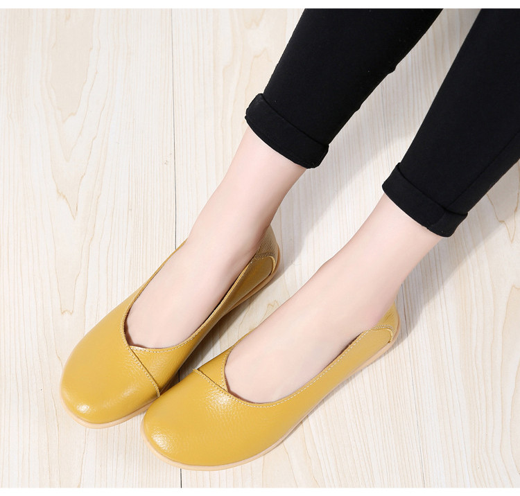 AH 5928-2019 Spring Autumn Woman Flats Casual Women Loafers-9