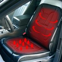12 V Podgrzewane Masaż Pleców Poduszki Siedzenia Samochodu Home Office Seat Wibracje Masażer Ciepła Tyłu Szyi Fotel Do Masażu Masaż Relaksacyjny nowy