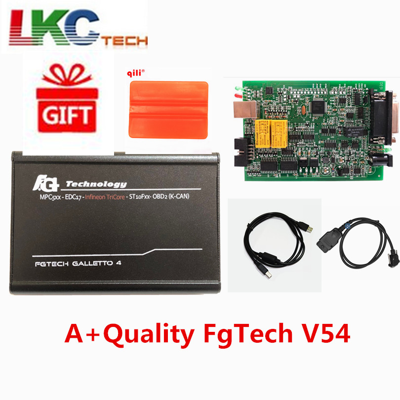 2019 + Качество FgTech V54 Galletto Master4 FG TECH V54 ECU Flasher поддержка функции BDM Multi-Язык Бесплатная доставка