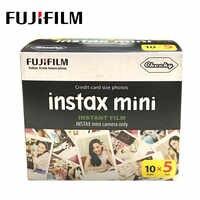 Fujifilm en papier Photo instantanée, Mini Film Instax mini-Film blanc 50 feuilles pour Fuji Instax Mini, 9 8 7s 25 x SP1