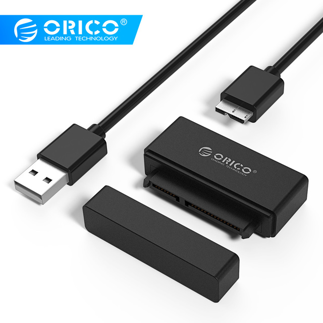 ORICO 21UTS/27UTS  USB3.0 to SATA Adapter Hard Drive Adapter  SSD Adapter Cable Converter Super Speed USB 3.0 To SATA 22 Pin