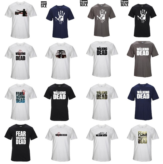 Walking Dead- Tshirt (Lot of Designs)