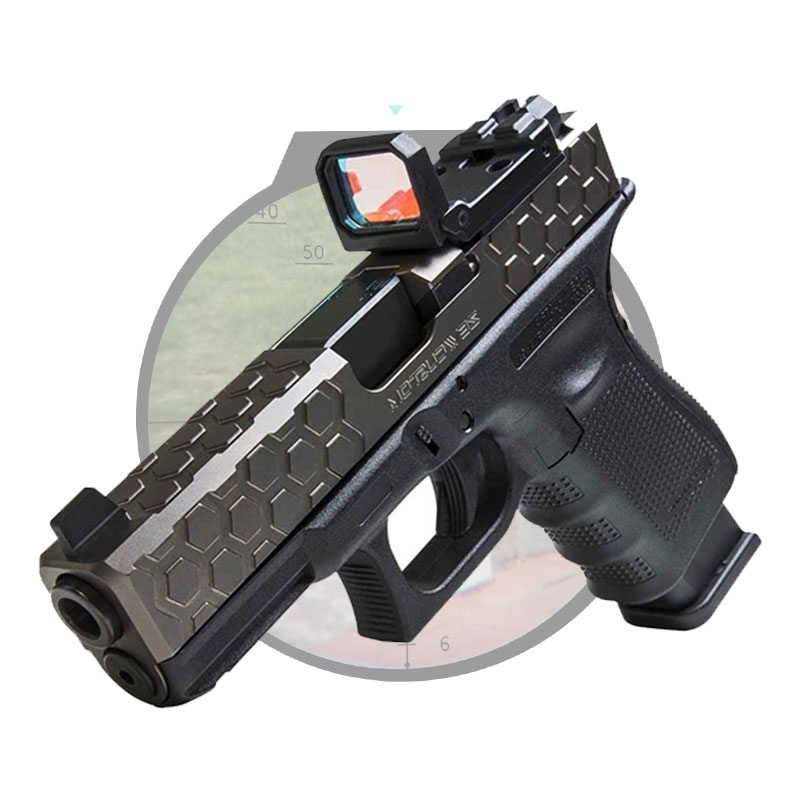 Tactical Rifle&Pistol Fold Red Dot Sight Compact Holographic Reflex Sight Scope Hunting Scopes very100 new tactical reflex 3 10x 40 red green dot reticle sight rifle scope