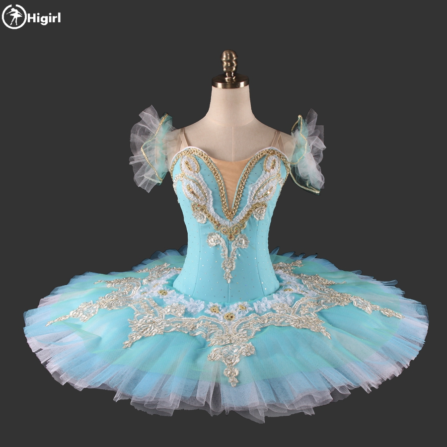 Blue Classical Professional Ballet Tutus Girl Classical