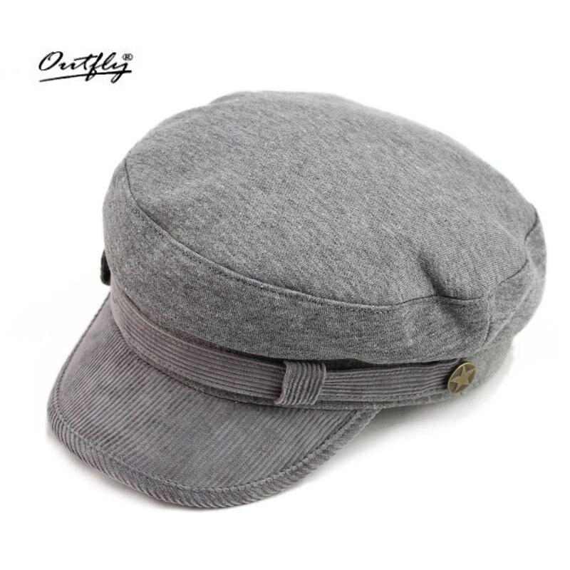 Outfly Fashion Cap Women Men Summer Spring Cotton Caps classic design Solid Hat Snapback Women Cap 2018 New fashion hat