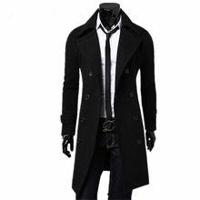 Mens Trench Coat 2019 New Fashion Designer Men
