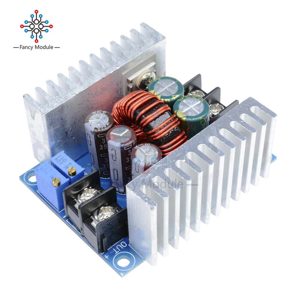 300W 20A DC-DC Buck Converter Step Down Module Constant Current LED Driver Power Step Down Voltage Module Electrolytic Capacitor настольная игра spin master домино 6033199
