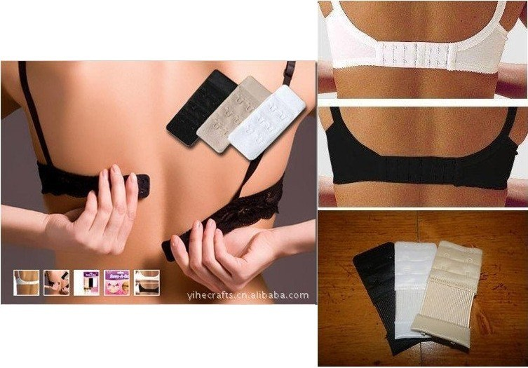 4 x Bra Clip Strap Cleavage Breast Lift Enhancer Extender Maternity FREE POST