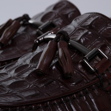 QYFCIOUFU Casual Shoes Men Loafers Genuine Leather Moccasin Crocodile Style Footwear Tassel Flat Driving Boat Shoes Classical