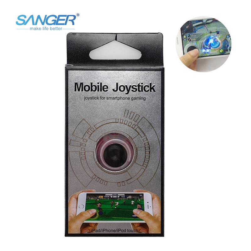 SANGER Big Dipper Smartphone Mini Game Joysticks för telefonens pekskärm Mobile Game Fling Mini Joystick Stödd för iPhone