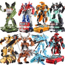 19.5cm Model Transformation Robot Car Action toys Plastic Toys Action Figure Toys BEST Gift For Children Gift(China)