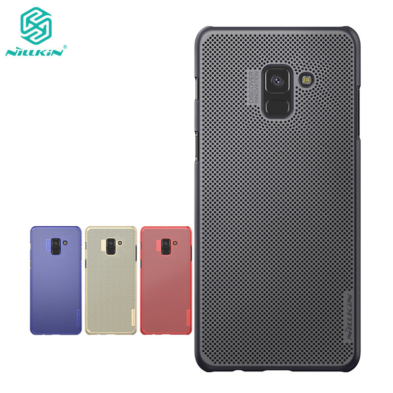 Nillkin Case for Samsung Galaxy A8 Plus 2018 Lightweight Heat Release Dissipation sFor Samsung A8 Plus 2018 Cover Case